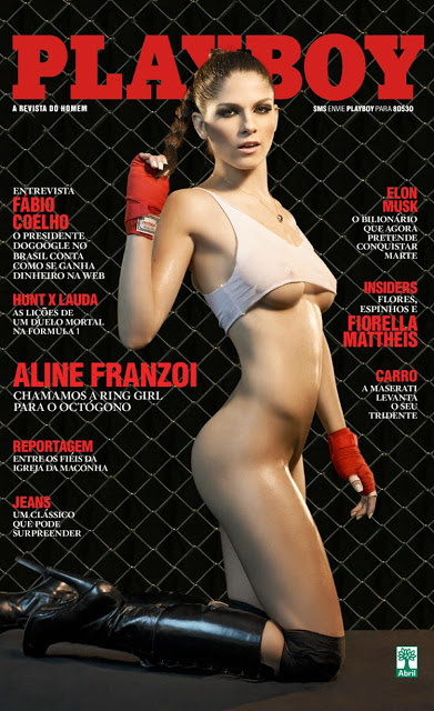 Playboy Aline Franzoi